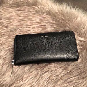 Matt & Nat Central Black Vegan Wallet